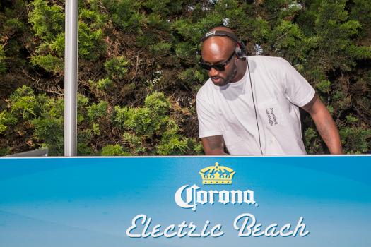 Corona Electric Beach: Virgil Abloh at Montauk Beach House