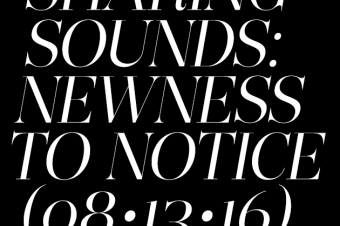 Sharing Sounds: New music you should notice (August 13)