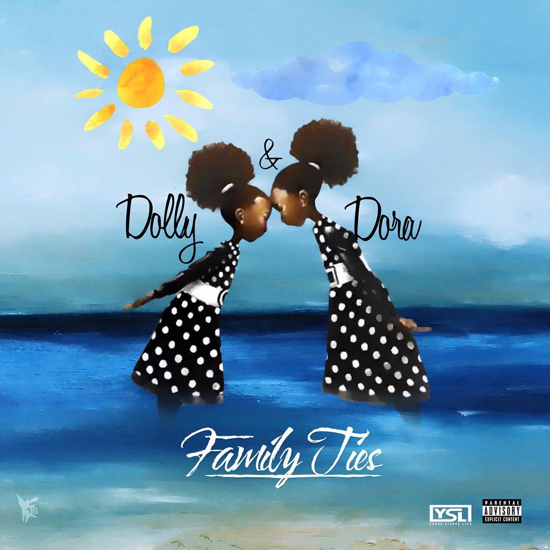 "Dolly and Dora's ""Family Ties"" cover art"