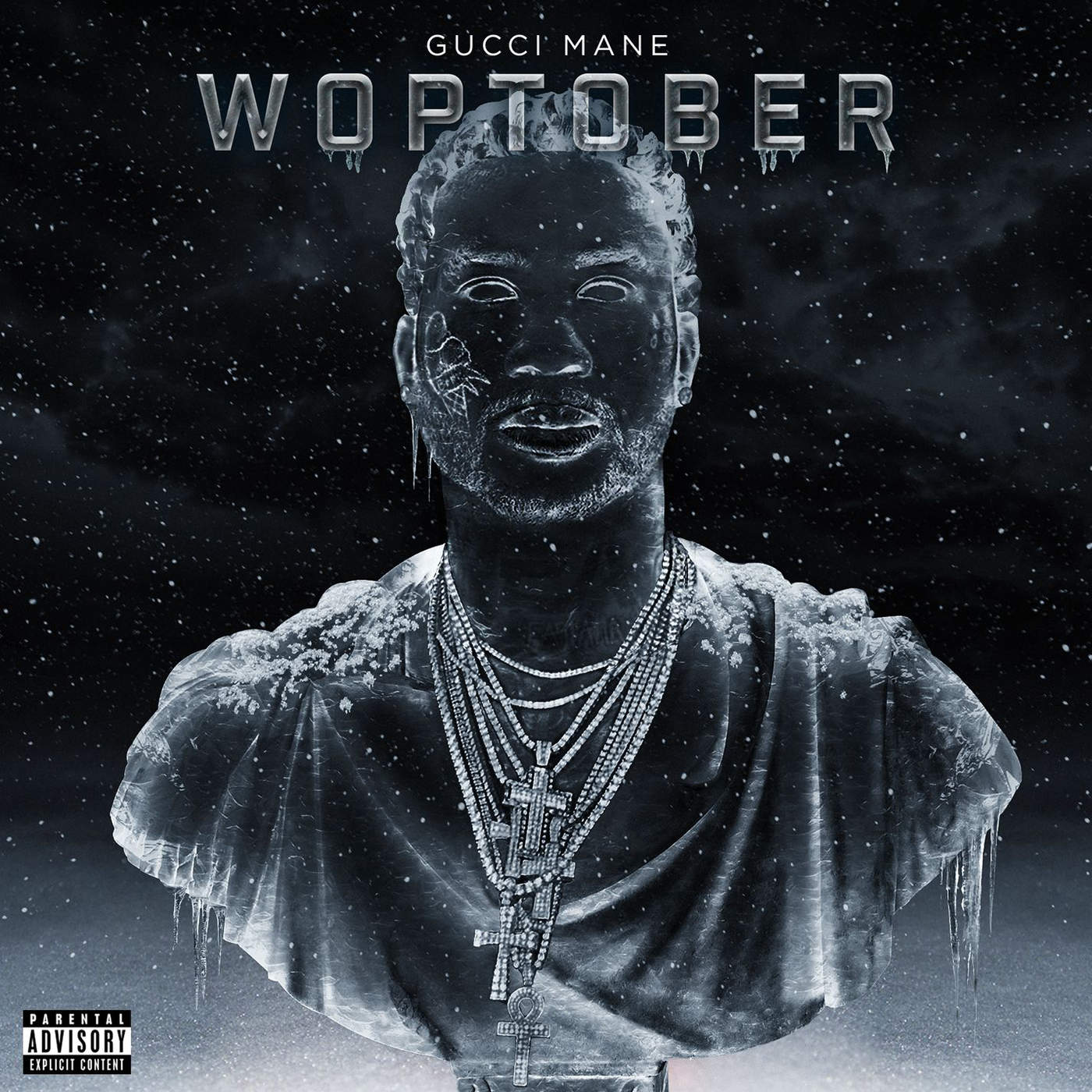 "Gucci Mane's ""WOPTOBER"" album cover"
