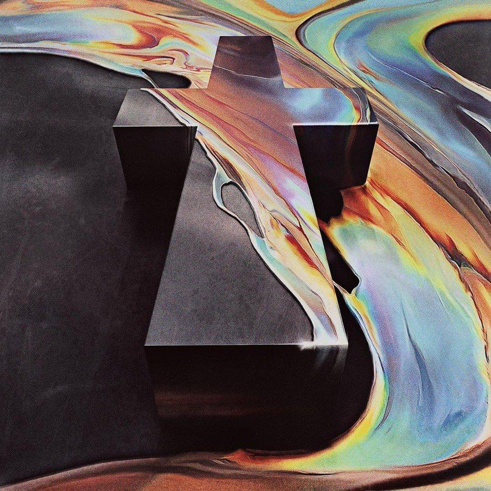 "Justice's ""Alakazam !"" disco cover art"