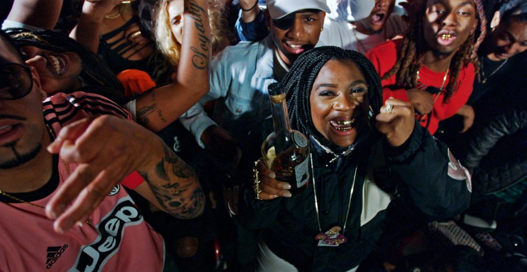 "Kamaiyah in ""Fuck It Up"" video"