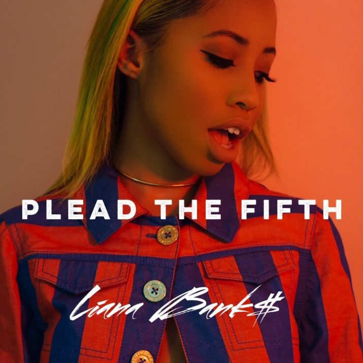 "Liana Bank$'s ""Plead the Fifth"" cover art"