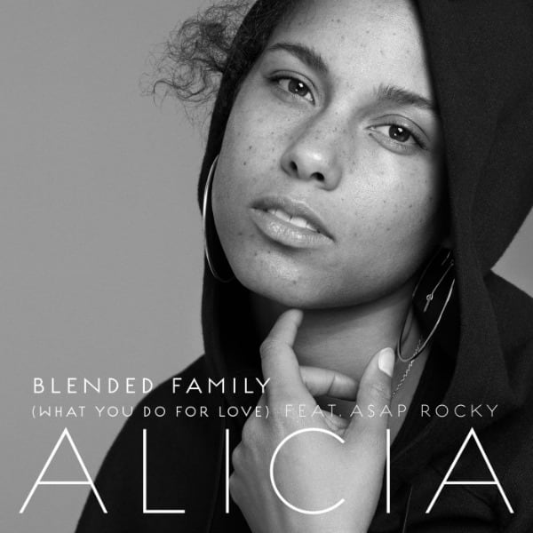 "Alicia Keys' ""Blended Family"" cover art"