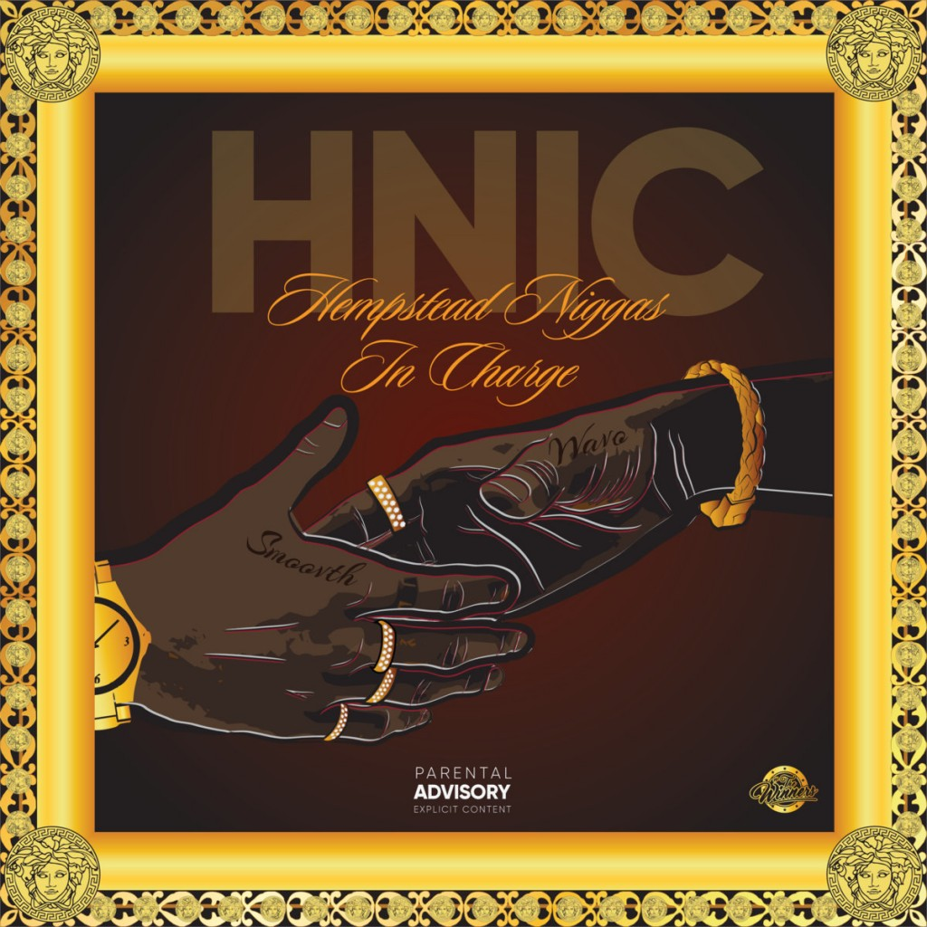 "Hus Kingpin & SmooVth's ""H.N.I.C"" cover art"