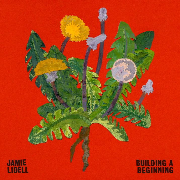 "Jamie Lidell's ""Building a Beginning"" cover art"