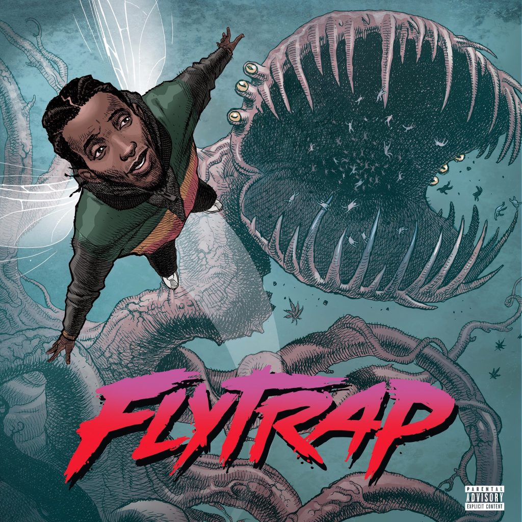 CJ Fly's cover art for FLYTRAP