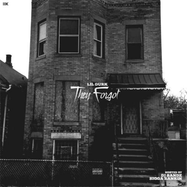 "Lil Durk's ""They Forgot"" cover art"