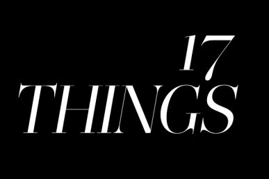 2017: 17 things I want to experience this year