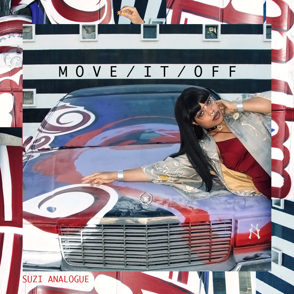 "Suzi Analogue's ""Move/It/Off"" cover art"