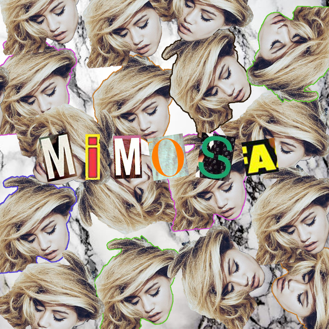 "DYLYN's ""Mimosa"" cover art"