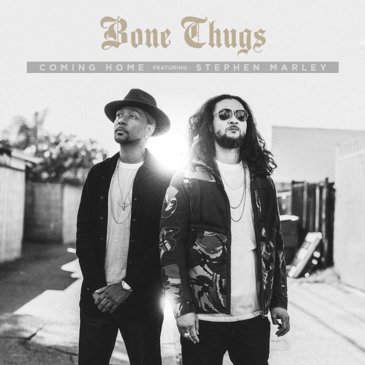 """Bone Thugs' """"Coming Home"""" cover art"""