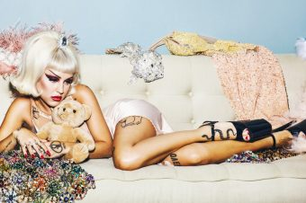 "Brooke Candy enlists Sia for ""Living Out Loud:"" Video"
