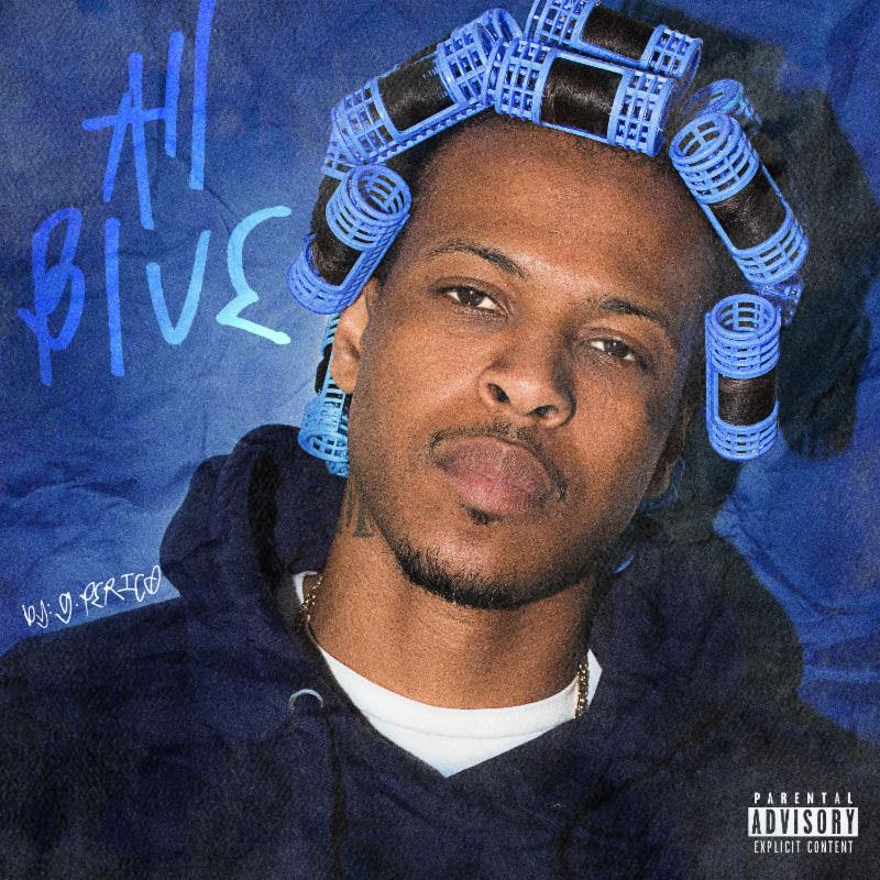"G Perico's ""All Blue"" album cover art"