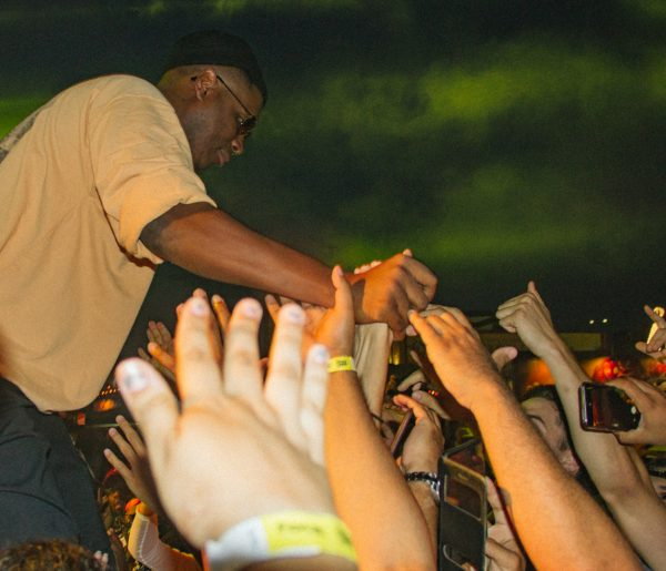 Jay Electronica & the crowd