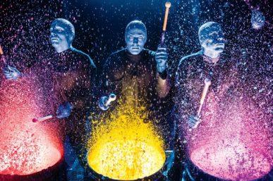 Blue Man Group: 'Trust is key'