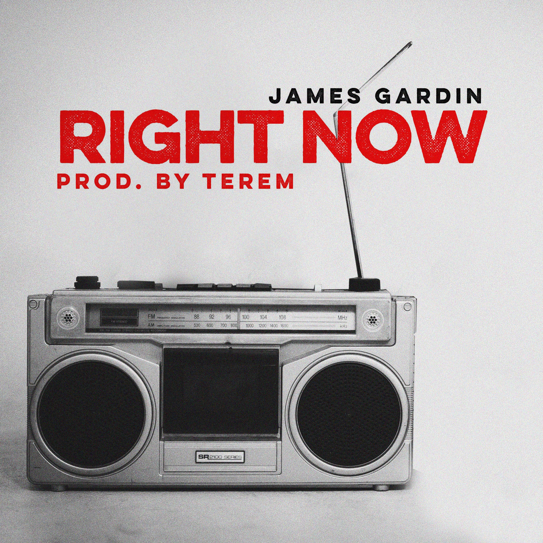James Gardin's cover art for Right Now
