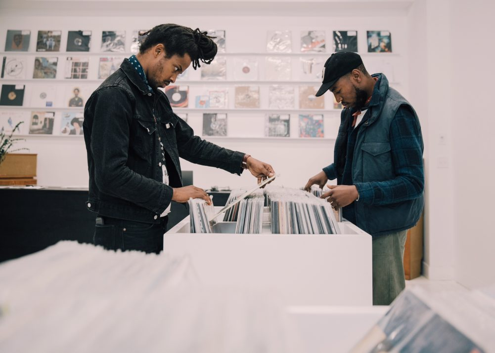 Ode to Vinyl founders David Andrew and DJ Prince