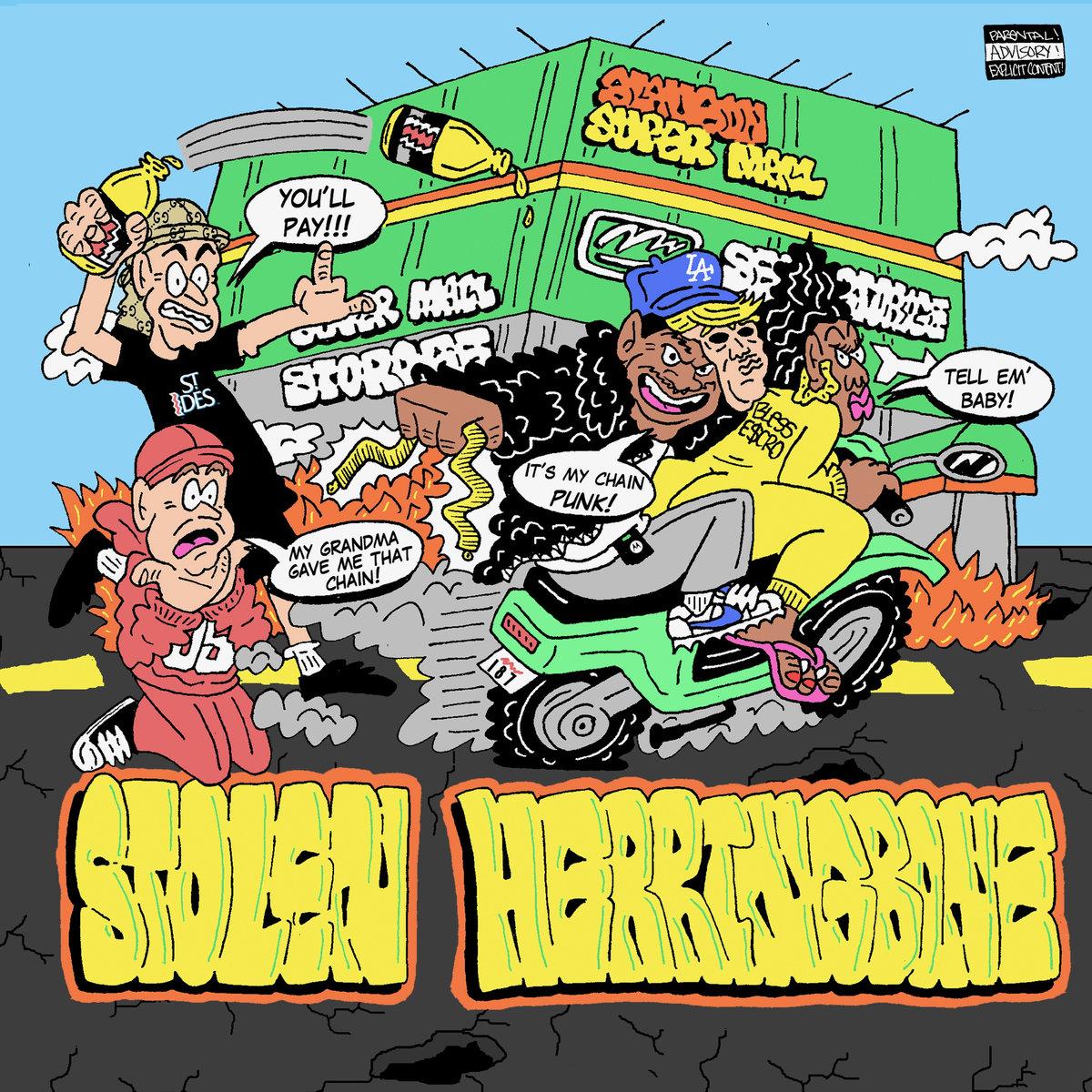 Bless Escro's 'Stolen Herringbone' cover art
