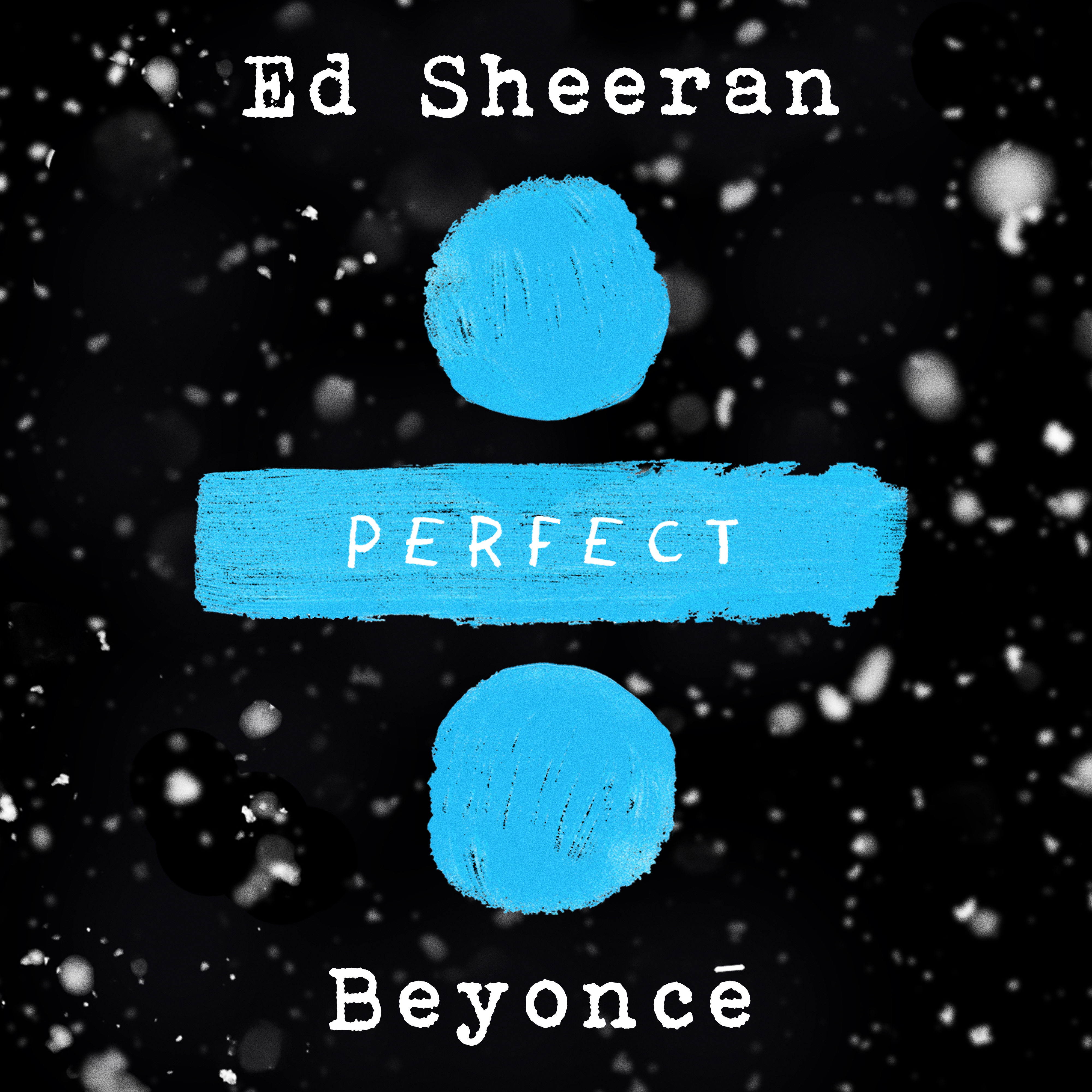 Ed Sheeran & Beyoncé's Perfect cover art