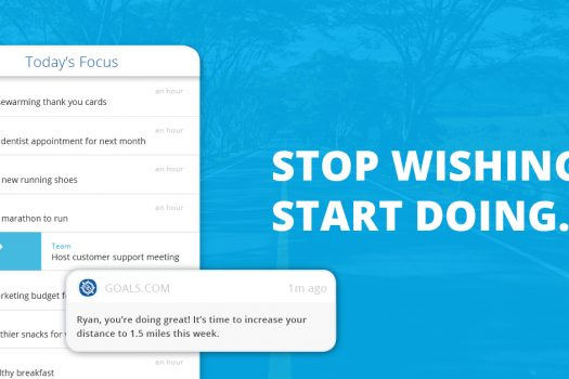 New goal-setting app propels individual success