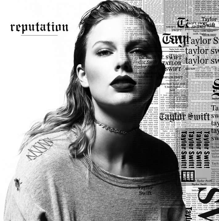"Taylor Swift's ""Reputation"" album cover"