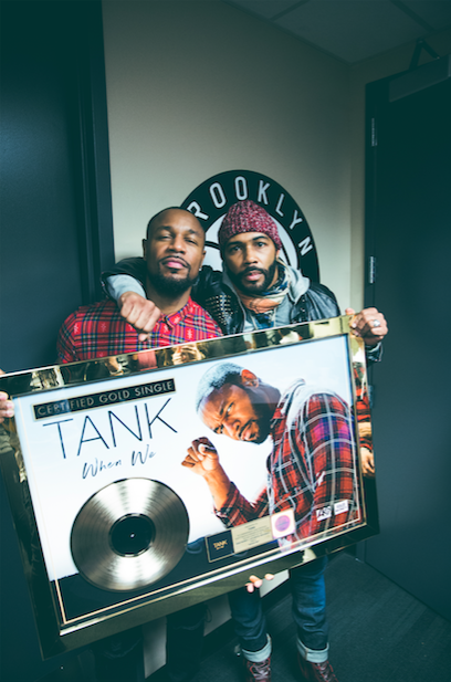 Tank at Barclays Center with Omar Chadwick