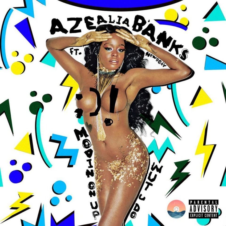 Azealia Banks' 'Movin On Up' cover art