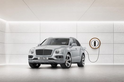 Bentley unveils world's first luxury hybrid at the 2018 Geneva Motor Show