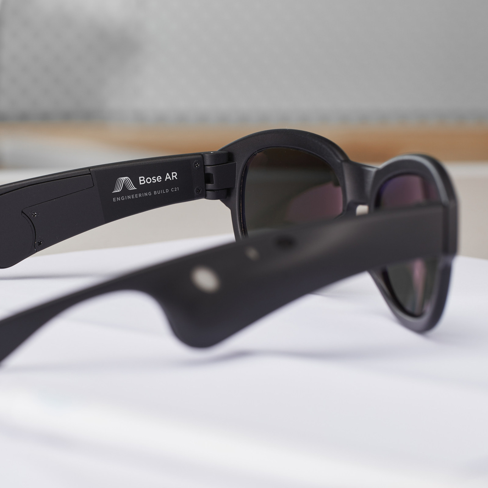 Bose's AR glasses are all about audio, not video