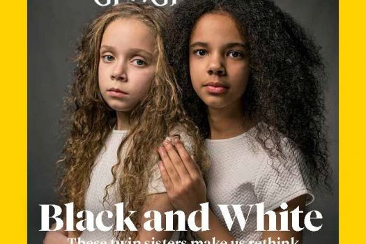 """National Geographic publishes """"The Race Issue"""", a special edition single-topic issue exploring race and diversity in the 21st Century"""