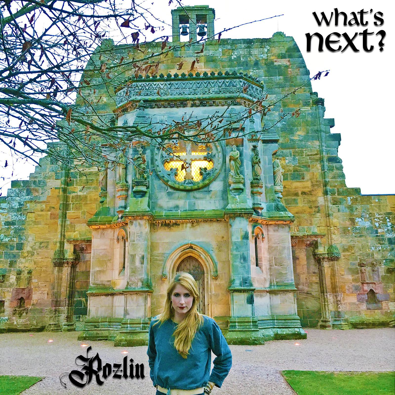 "Rozlin's cover art for ""What's Next?"""