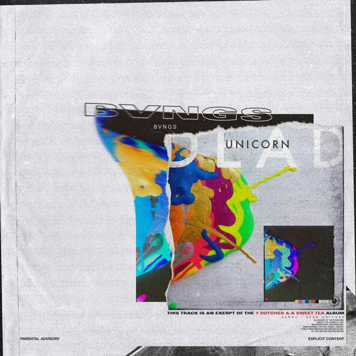 BVNGS' cover art for 'Dead Unicorni'