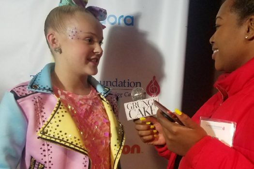 JoJo Siwa and others support TJ Martell's Foundation 17th Annual New York Family Day
