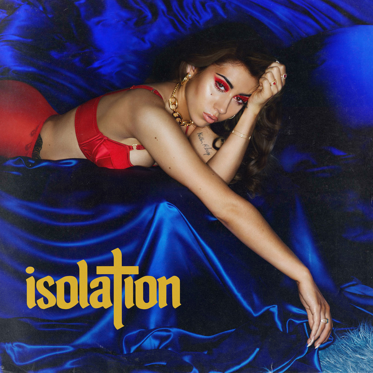 Kali Uchis' cover art for 'Isolation'