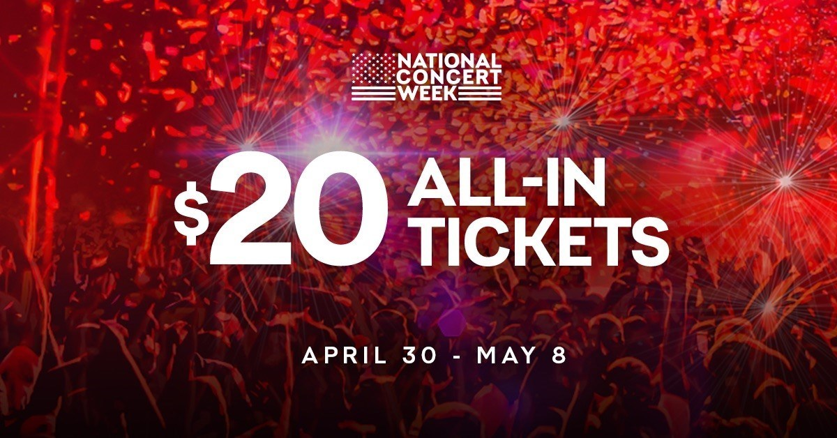 Dozens of Indianapolis concerts included in Live Nation's '$20 all-in' ticket offer