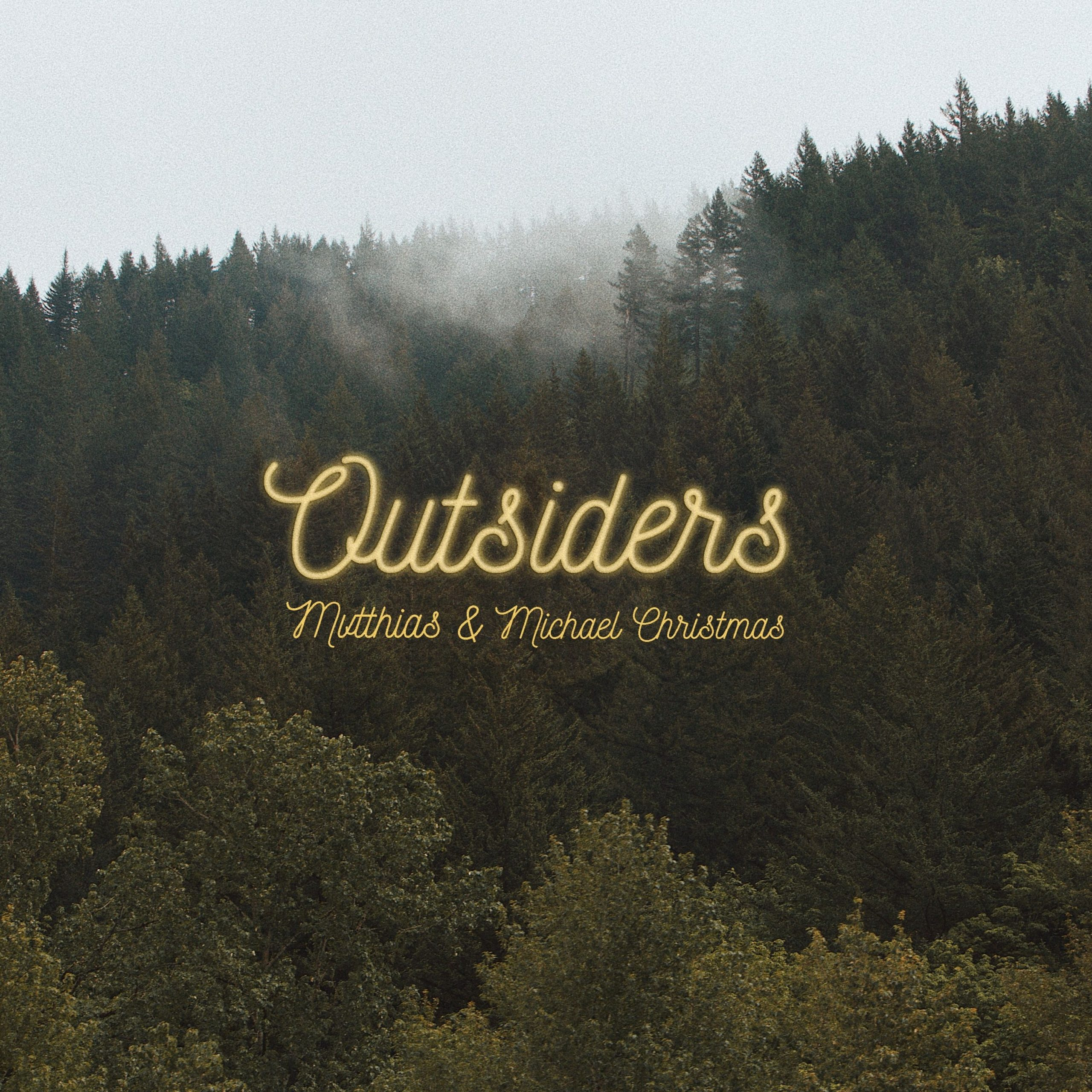 MVTTHIAS's cover art for 'Outsiders' featuring Michael Christmas