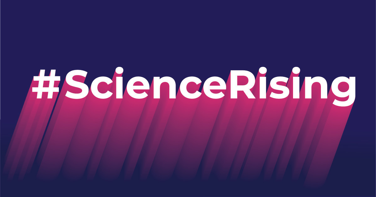 Union of Concerned Scientists ScienceRising Logo