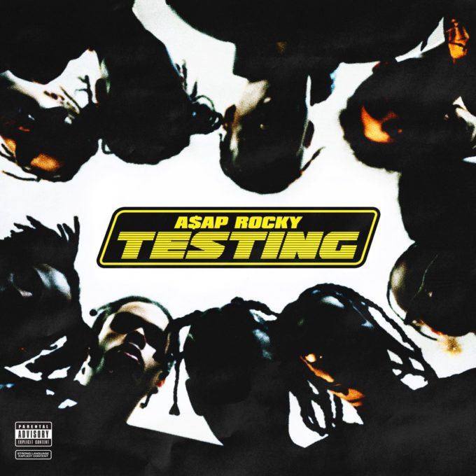 A$AP Rocky's cover art for 'Testing'