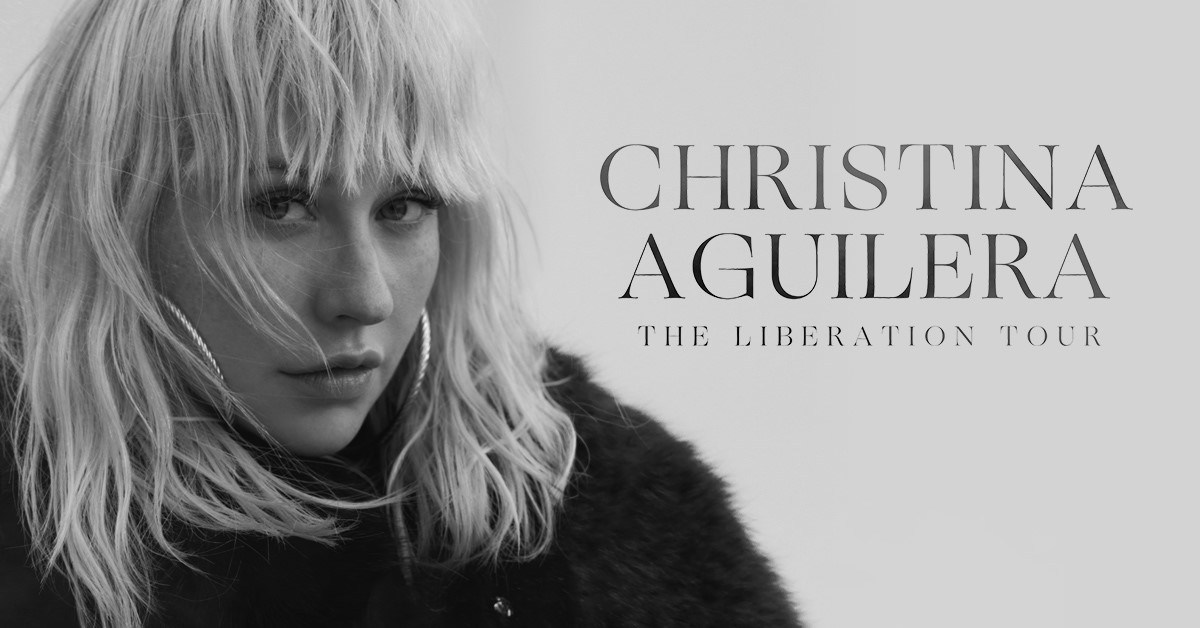 Christina Aguilera's official tour graphic