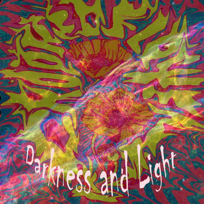 Crooked Flower's cover art for 'Darkness and Light'