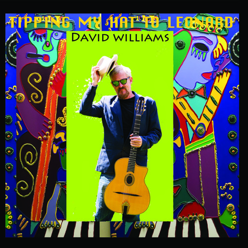 David Williams' cover art for Tipping My Hat to Leonard