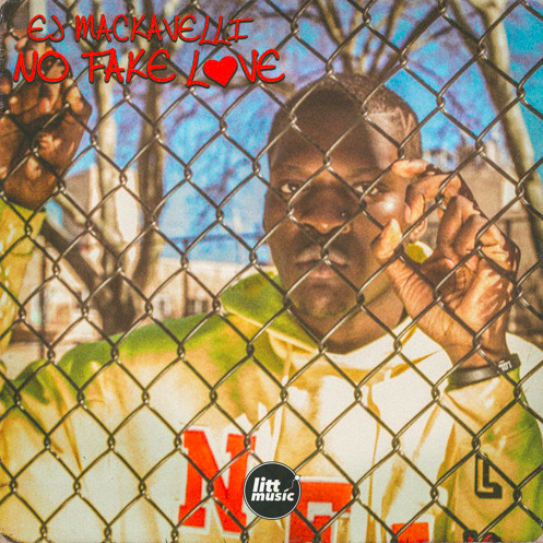 EJ Mackavelli's cover art for 'No Fake Love'