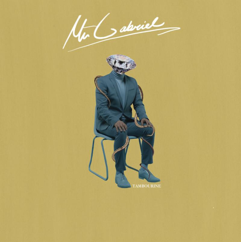 Mr Gabriel's cover art for 'Tambourine'