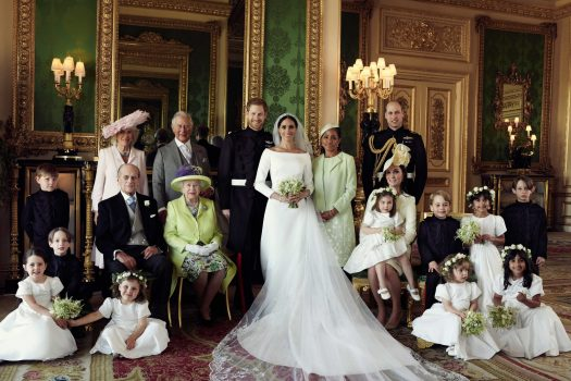 The Royals share three photos from wedding day