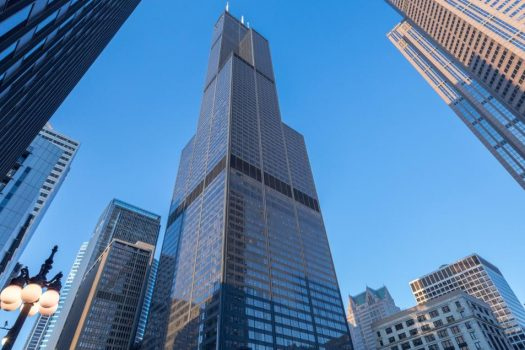 Chicago's iconic Willis Tower is taken to new heights with Otis