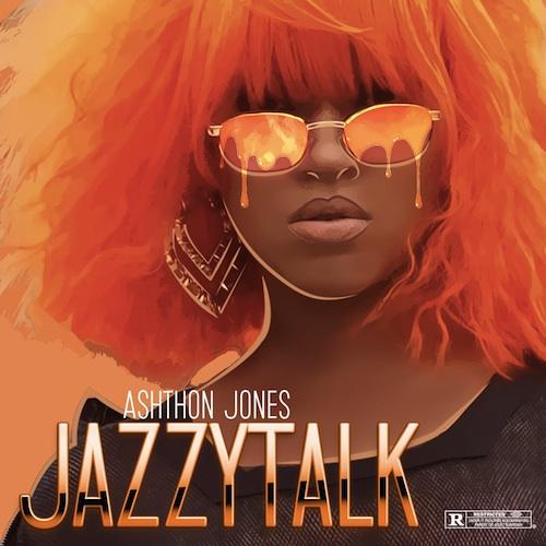 Ashthon Jones' cover art for JazzyTalk