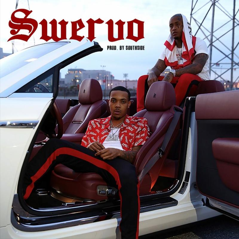 G Herbo's cover art for 'SWERVO'