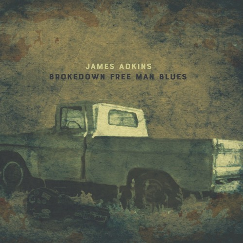 James Adkins' cover art for Brokedown Free Man Blues