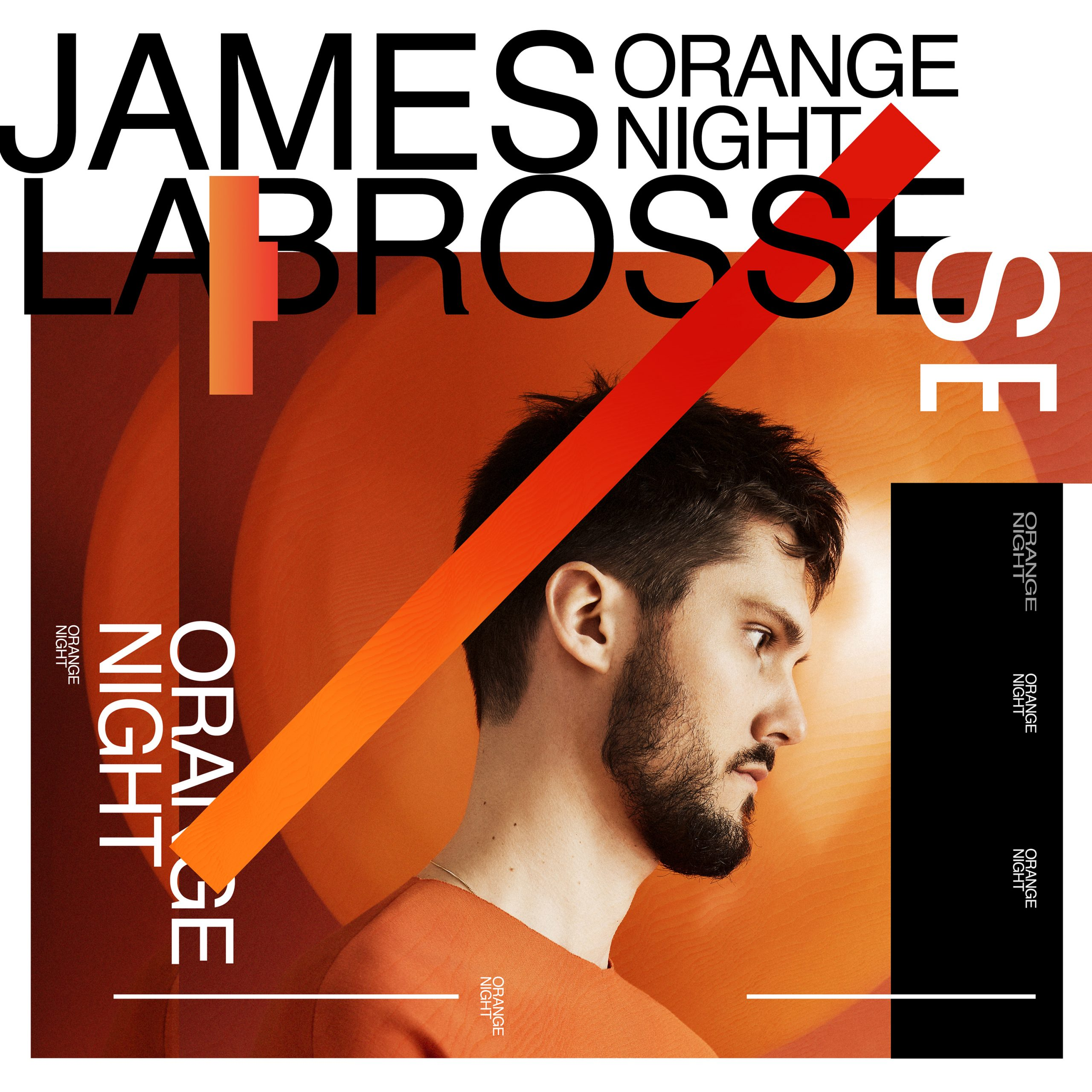 James Labrosse's cover art for 'Orange Night'